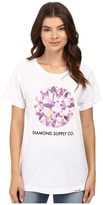 Diamond Supply Co. Pink Simplicity Boyfriend Tee