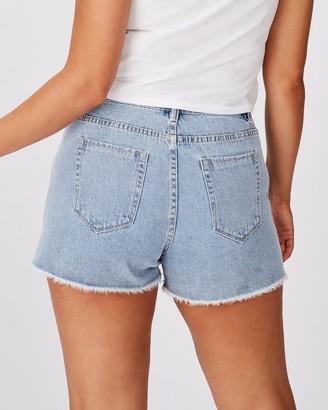 Supre Venice Mom Denim Shorts