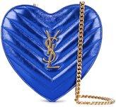 Saint Laurent min 'Love' crossbody heart bag