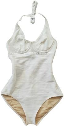 Wolford Ecru Cotton - elasthane Swimwear for Women