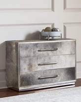 Bernhardt Baxter Hairhide Three-Drawer Chest