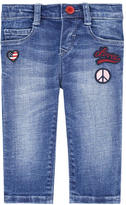 Levi's Baby girl slim fit jeans with patches