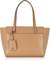 Tory Burch Parker Cardamom Leather Small Tote Bag