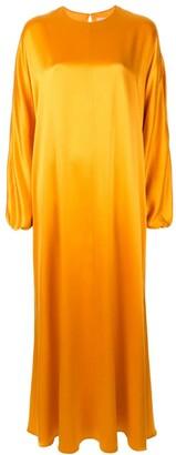 Roksanda Long-Sleeve Maxi Dress