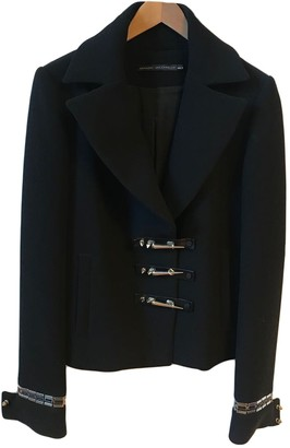 Anthony Vaccarello Black Polyester Jackets