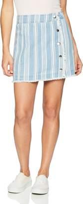Jack by BB Dakota Junior's Ivanna Printed Chambray Skirt