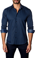 Jared Lang Chevron Cotton Sportshirt