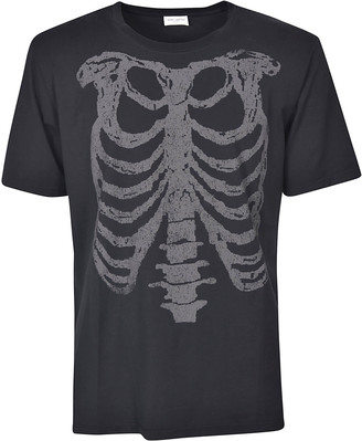Saint Laurent Rib Cage Print T-shirt