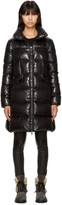 Moncler Black Down Jasminum Jacket