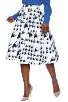 Do & Be Geo Print Skirt
