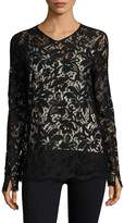 Sportmax Women's Floral Embroidery Top