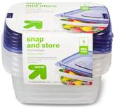 up & up Snap and Store Food Storage Containers 5ct
