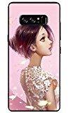 For Samsung Galaxy Note 8 Girls Case,HP95(TM) New Emboss Cute Cartoon Pattern Ultra Thin Soft TPU Case Cover For Samsung Galaxy Note 8 (A)