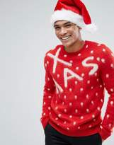 Asos Christmas Jumper With Xmas Design