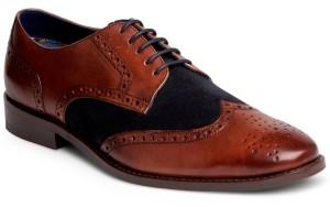 Carlos by Carlos Santana Sazabo Wingtip Oxford Derby Men's Shoes