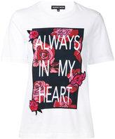 Markus Lupfer Always in my Heart T-shirt - women - Cotton - M