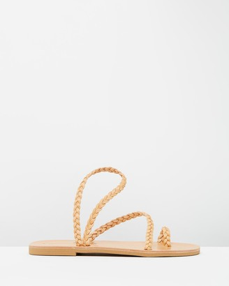 Ammos - Women's Brown Strappy sandals - Clio Sandals - Size One Size, 38 at The Iconic
