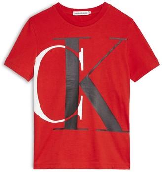 Calvin Klein Kids Large Monogram T-Shirt (4-16 Years)