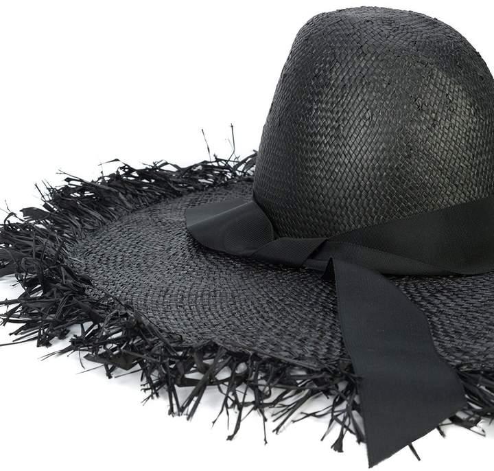 Gigi Burris Millinery Ete woven raffia hat