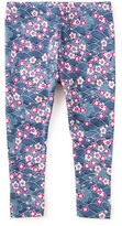 Tea Collection Mio Floral Print Leggings (Baby Girls)