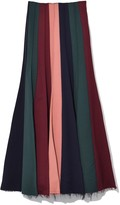 Gabriela Hearst Ernst Skirt in Multicolor