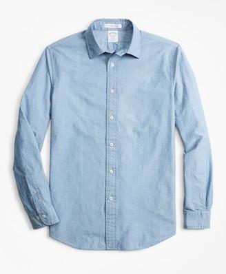 Brooks Brothers Regent Fit Indigo Sport Shirt