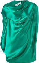 Gianluca Capannolo draped blouse - women - Polyester/Triacetate - 42