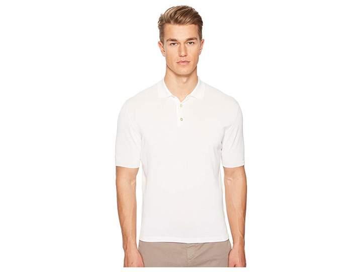 Eleventy Ice Cotton Polo Men's Clothing