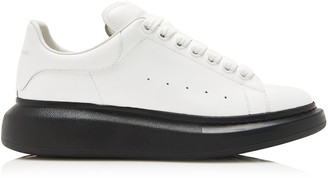 Alexander McQueen Two-Tone Leather Sneakers