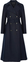 The Row Frenton Stretch-cotton Gabardine Trench Coat - Navy