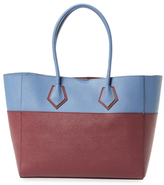 Rebecca Minkoff Piper Medium Bicolor Leather Tote