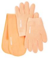 Pure Code Moisturizing Gel Gloves & Neck Wrap Gift Set - Peach