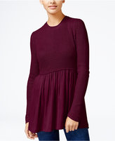 Hooked Up By Iot Juniors' Layered-Look Sweater