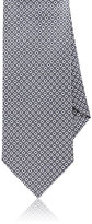 Drakes Drake's Men's Circle Silk Necktie-GREY