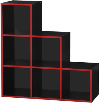 Lloyd Pascal Virtuoso 6 Cube Step Storage with Red Edging