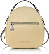 Armani Jeans Light Beige Eco Leather Backpack