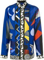 Versace JP Collage print shirt
