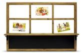 Threshold Window-Style Float Frame with Blackboard and Shelf