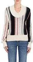 J.W.Anderson WOMEN'S VERTICAL-STRIPED STRETCH-COTTON SWEATER