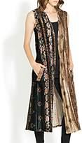Adore Velvet Tapestry Vest