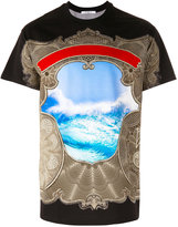 Givenchy ocean print T-shirt - men - Cotton - XS