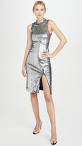 Alice + Olivia Malika Sequin Embellished Sleeveless Dress