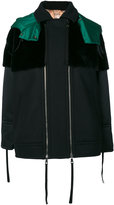 No.21 panel jacket - women - Polyamide/Polyester/Cashmere/Wool - 38