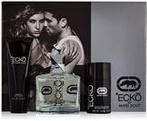 Marc Jacobs Ecko by Marc Ecko for Men - 3 Pc Gift Set 3.4oz EDT Spray, 2.6oz Alcohol free Deodorant Stick, 3oz Hair and Body Wash