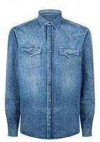 Brunello Cucinelli Western Denim Shirt