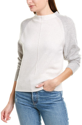 Vince Colorblocked Cashmere Sweater