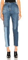 Valentino Patch Skinny Denim in Blue.