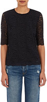 Barneys New York WOMEN'S GUIPURE LACE BLOUSE