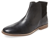 Ben Sherman Round-Toe Leather Boot