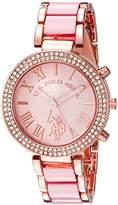U.S. Polo Assn. Women's Quartz Pink Dress Watch (Model: USC40084)